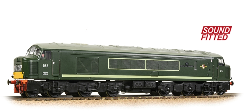 Bachmann 32-682SF - Class 45/0 Centre Headcode D53 'Royal Tank Regiment' BR Green (SYP)